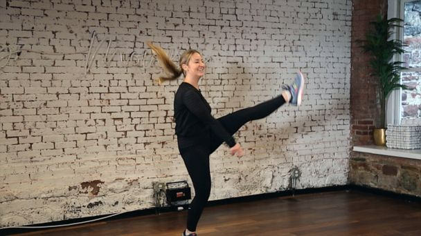 29 classes in 30 days: We challenged ourselves to cardio dance for a month