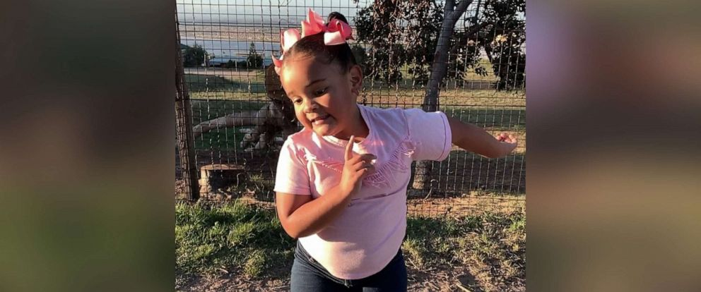 PHOTO: A six-year-old girl from South Africa called Ivanah dances in a video shared to Instagram on June 10, 2019.