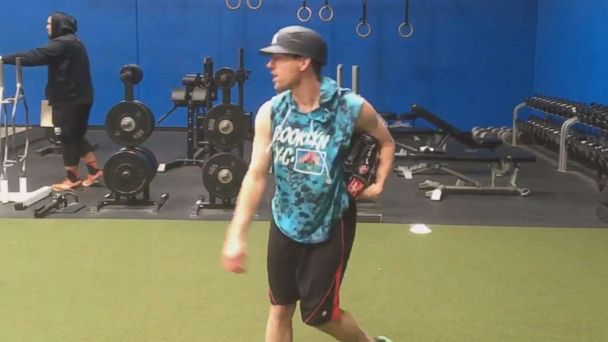 MLB pitcher described as 'walking miracle' returns to the mound for spring training