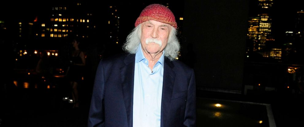 """PHOTO: David Crosby attends """"David Crosby: Remember My Name"""" at The James Hotel, July 16, 2019, in New York City."""