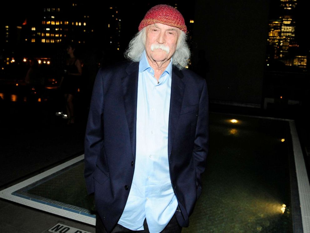 PHOTO: David Crosby attends David Crosby: Remember My Name at The James Hotel, July 16, 2019, in New York City.