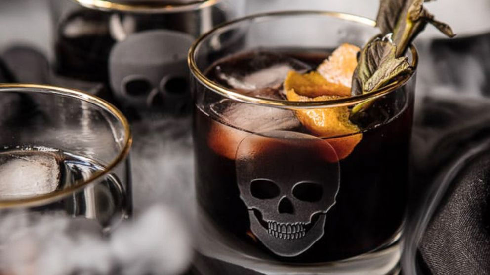 Death eater negroni from Half Baked Harvest.