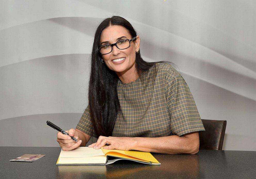 PHOTO: Actress Demi Moore attends the signing of her memoir Inside Out at Barnes & Noble Union Square on Sept. 24, 2019 in New York City.