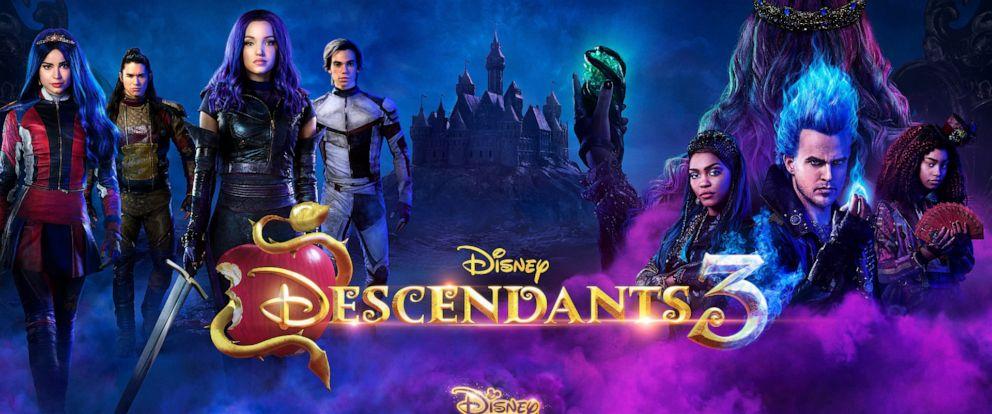 "PHOTO: Disney Channel will release a new original movie, ""Descendants 3,"" in summer 2019."