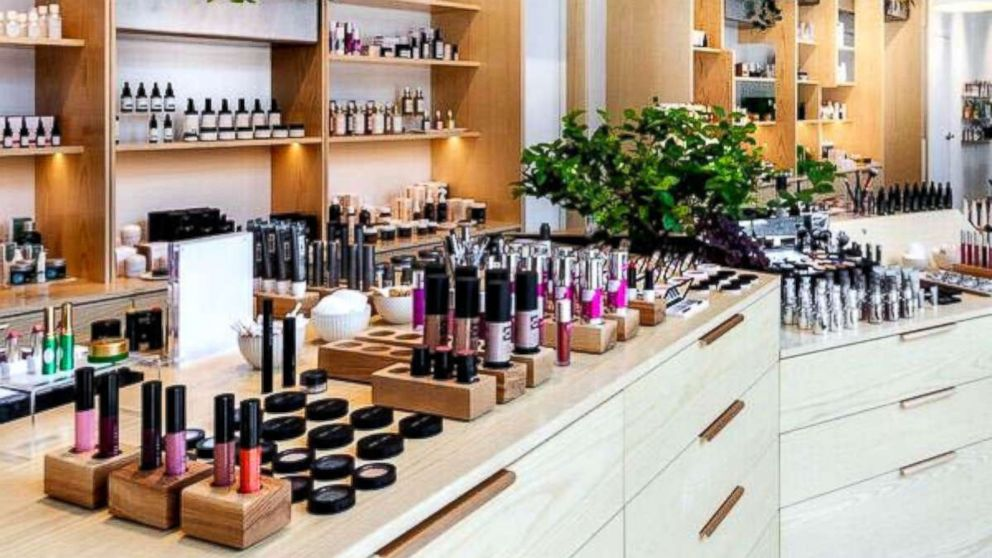 The Detox Market occupies a two-level, 2,000-square-foot space in the Nolita neighborhood of New York City.