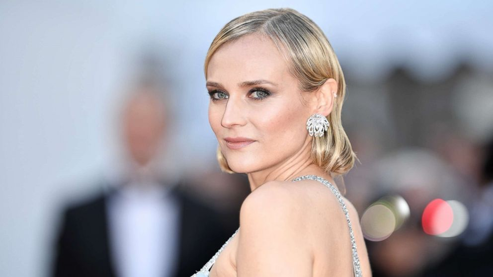 Diane Kruger arrives for the screening of the film 'Sink Or Swim (Le Grand Bain)' at the 71st Cannes Film Festival in France, May 13, 2018.