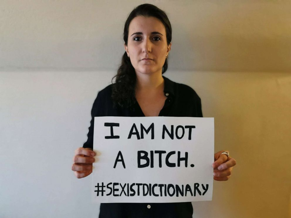 PHOTO: Maria Beatrice Giovanardi, 28, created a Change.org petition to protest the definition of woman in the Oxford English Dictionary.