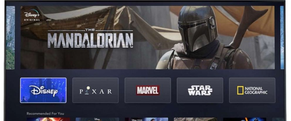 PHOTO: Disney unveiled a first look at their new Disney Plus streaming service.