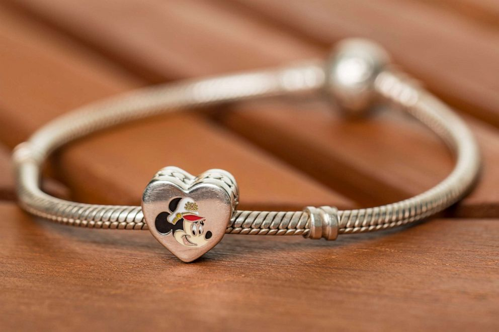 PHOTO: To celebrate the excitement of Captain Minnie Mouse at the helm, Disney Cruise Line unveiled a new PANDORA Jewelry charm available for purchase exclusively aboard Disney ships.