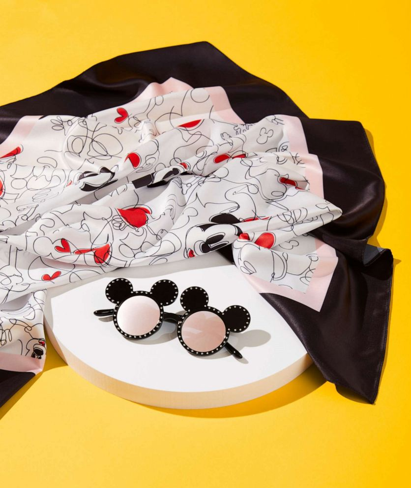 PHOTO: Disney x ALDO celebrates Mickey Mouse and Minnie Mouse.