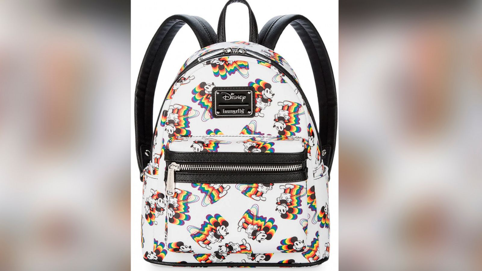 27c253a6b82 Rock the rainbow with these Mickey Mouse backpacks