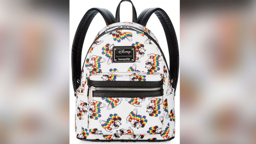 f0a58cd797b6 Rock the rainbow with these Mickey Mouse backpacks
