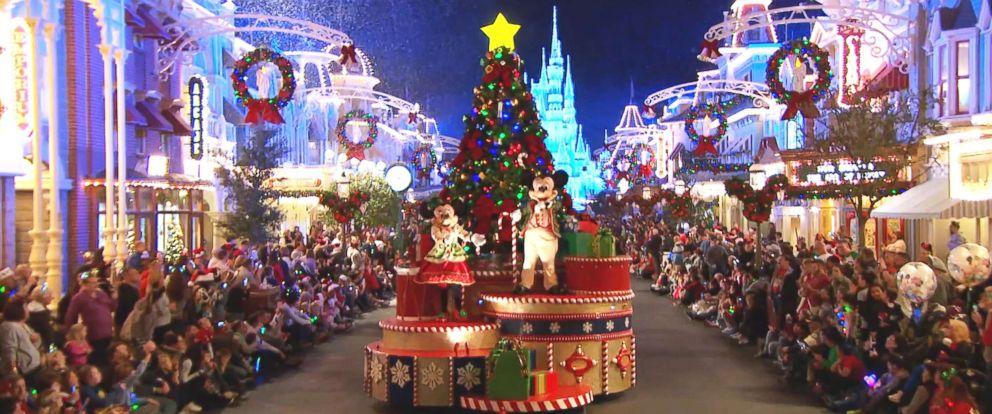 PHOTO: Mickeys Very Merry Christmas Party at Walt Disney Worlds Magic Kingdom.