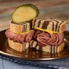 Pastrami sliders.