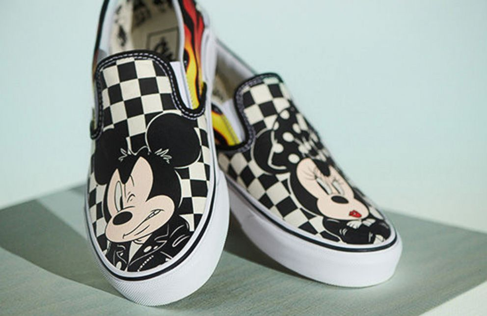 PHOTO: Vans has teamed up with Disney to release a cool collection in honor of Mickey Mouses 90th anniversary.