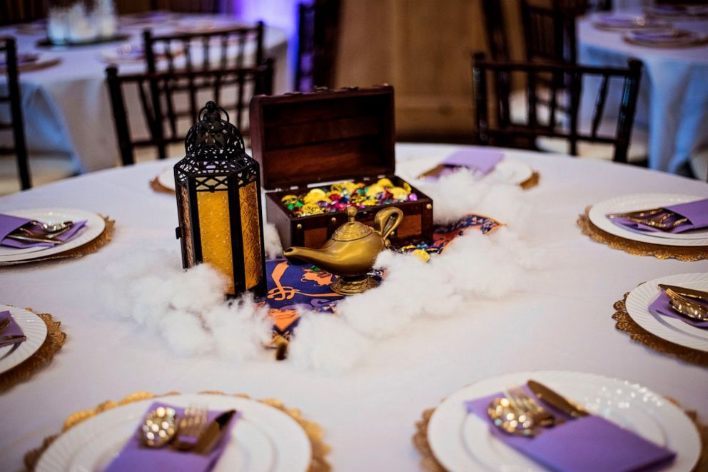 Fabulous Couple Marries In Magical Disney Themed Wedding Complete Home Interior And Landscaping Eliaenasavecom