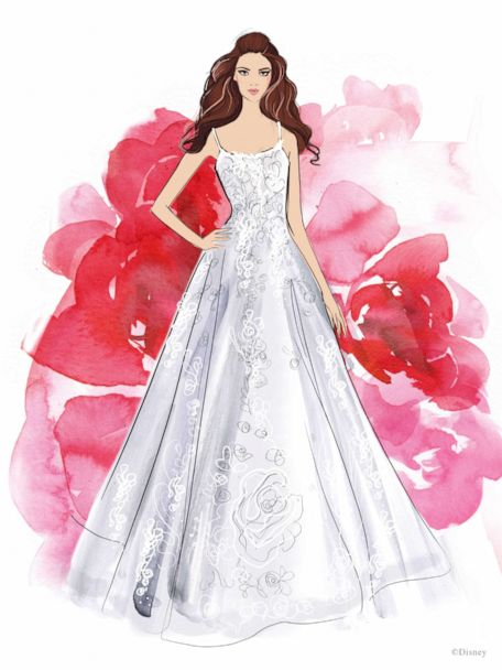 Say I Do In One Of These Wedding Dresses From The 2021 Disney Fairy Tale Weddings Collection Gma