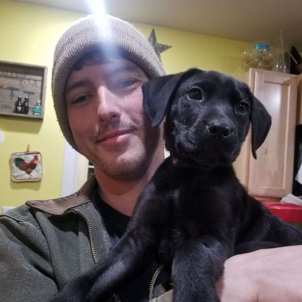 Deaf man adopts deaf rescue puppy and teaches him sign language | GMA