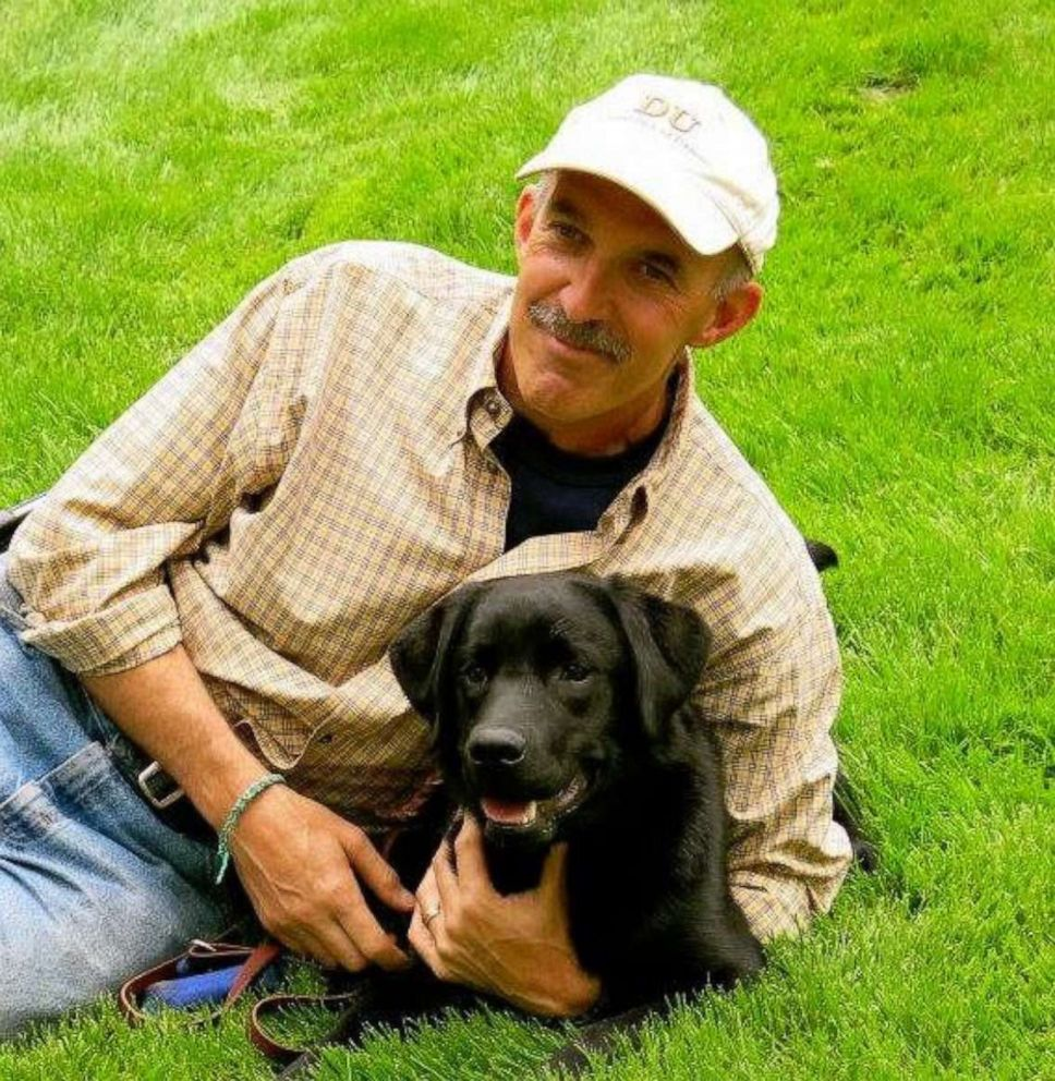 Tedeschi loves playing in the park with his dog.
