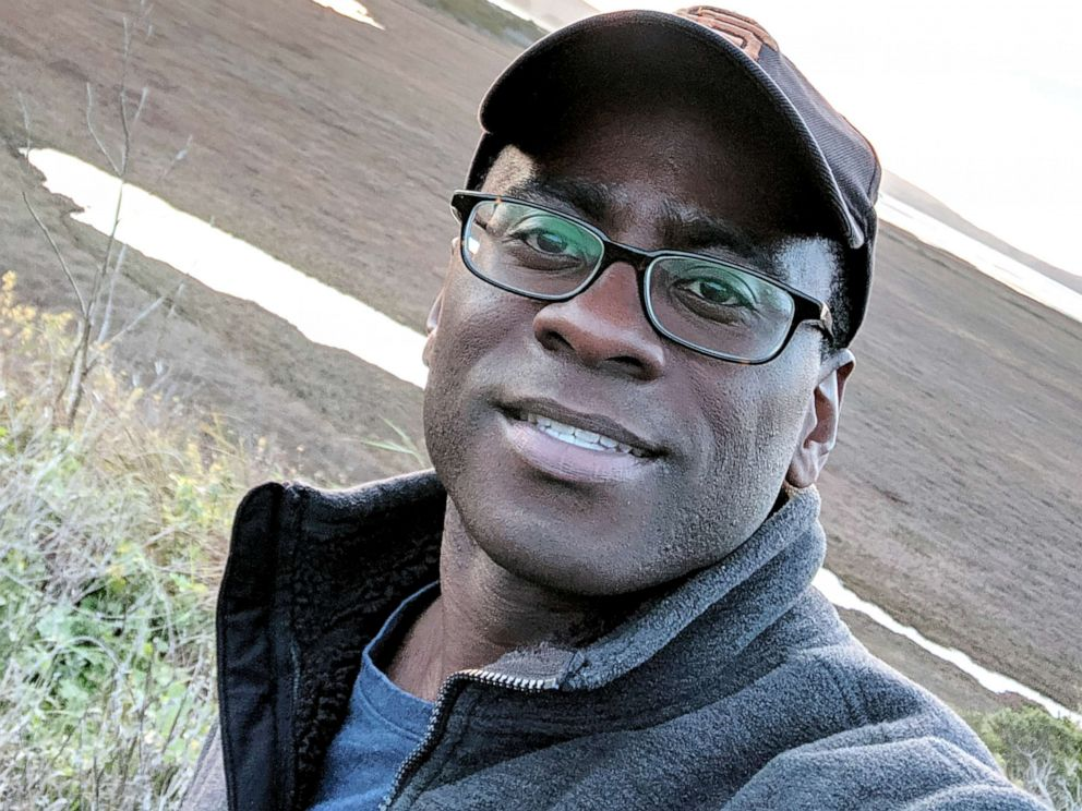 PHOTO: Dr. Dominique Apollon, 45, is seen here in a selfie taken December 2018.