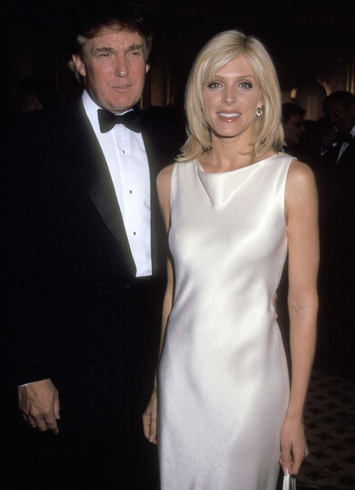 PHOTO: Donald Trump and Marla Maples attend Le Cirque Grand Opening in this April 30, 1997 file photo in N.Y.