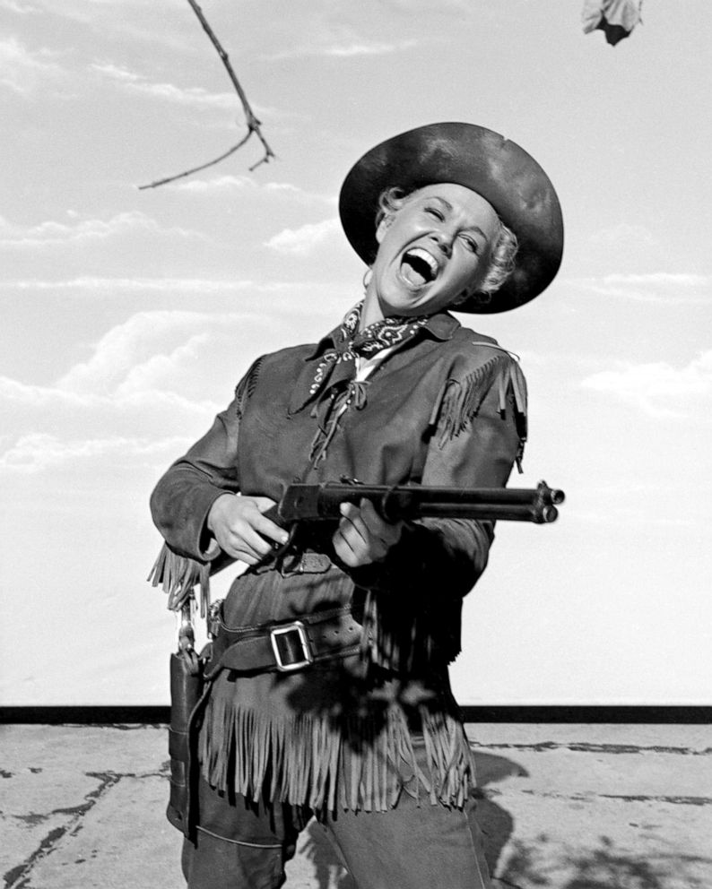 PHOTO: Actress Doris Day in the title role of Calamity Jane in 1953.