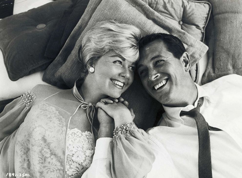 PHOTO: Doris Day starred in the movie, Pillow Talk with Rock Hudson.