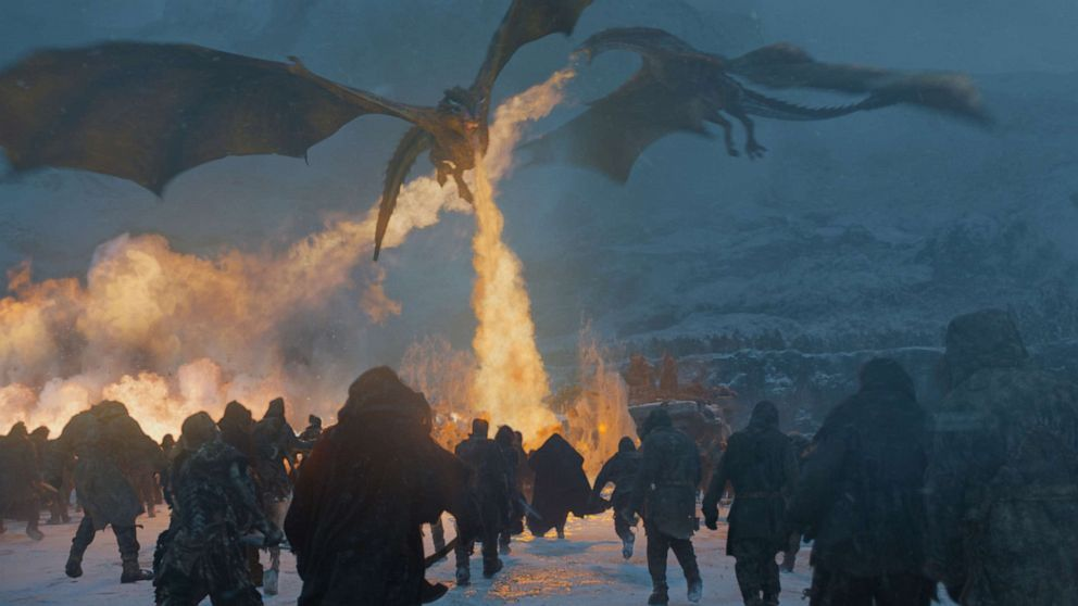 A history of the fire-breathing, crazy cool dragons on 'Game