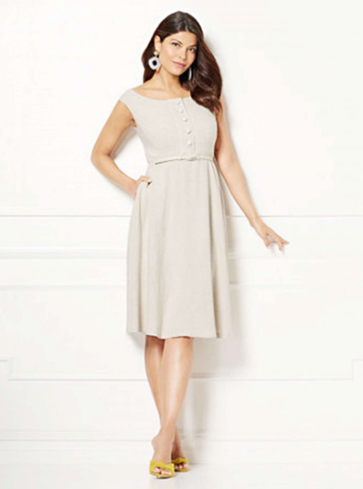 d142b868986 PHOTO  The Mackenzie Linen Sundress from the Eva Mendes Collection at NY    Co.