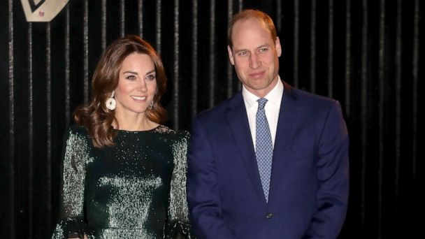 Duchess Kate sparkles in emerald green dress on Ireland tour | GMA