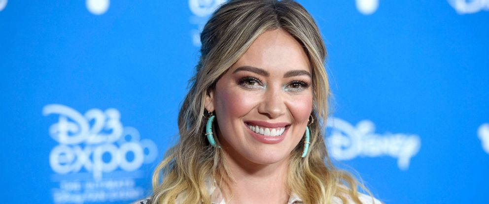 PHOTO: Hilary Duff attends D23 Disney+ Showcase at Anaheim Convention Center, Aug. 23, 2019, in Anaheim, Calif.