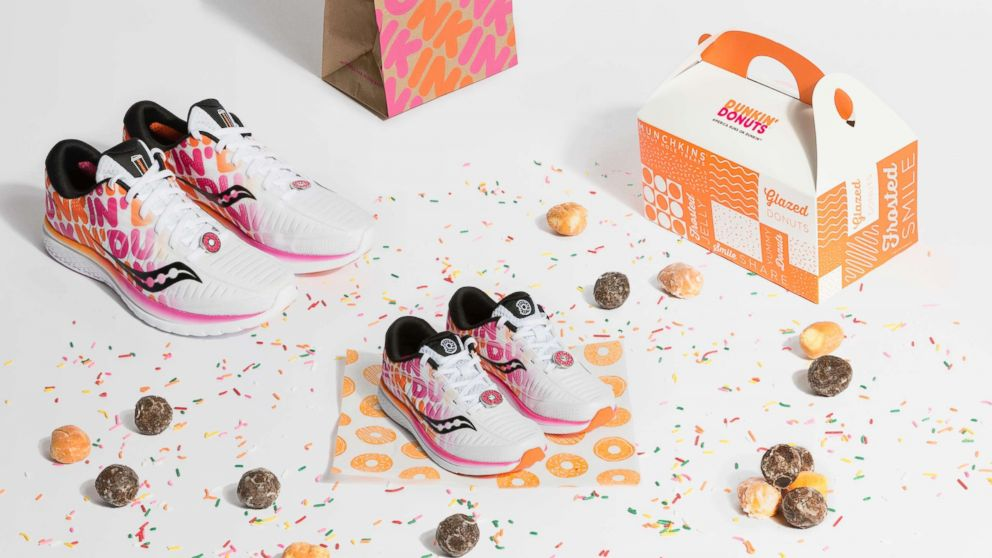 Saucony drops Dunkin  sneaker collaboration to celebrate Boston ... c3df21d46ad