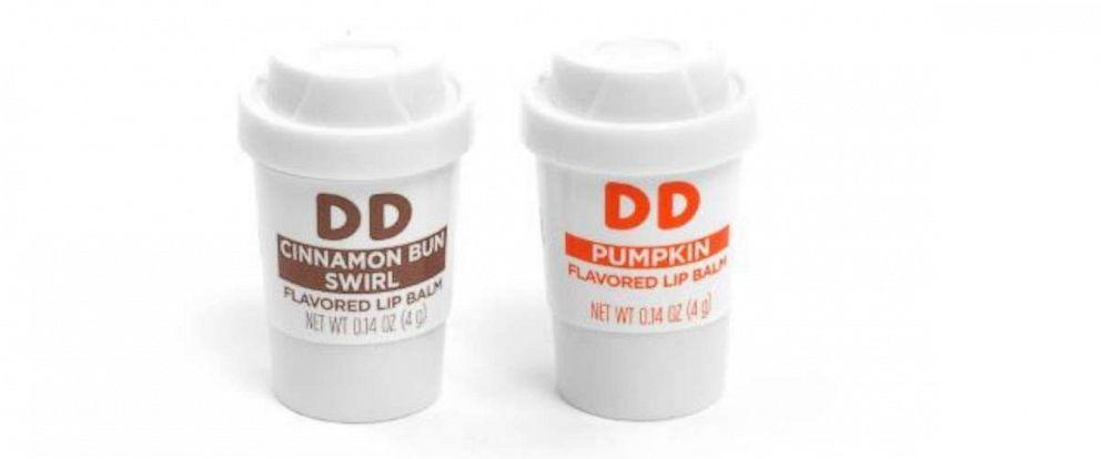 PHOTO: Lip Balm Set from Dunkin Donuts.