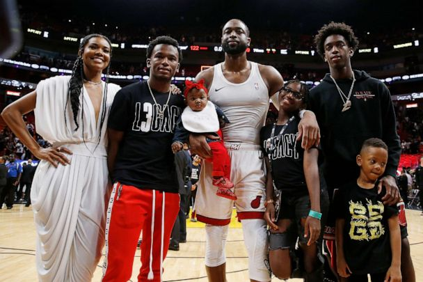 98eaadb50f9 Dwyane Wade says it was  so fitting  to end NBA career with wife ...