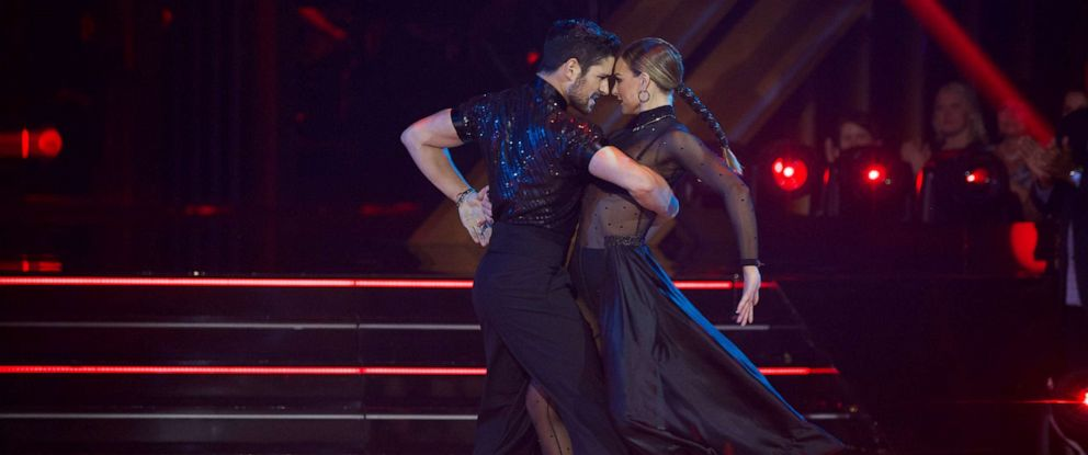 "PHOTO: Alan Bersten and Hannah Brown compete on ABCs ""Dancing with the Stars,"" Oct. 7, 2019."