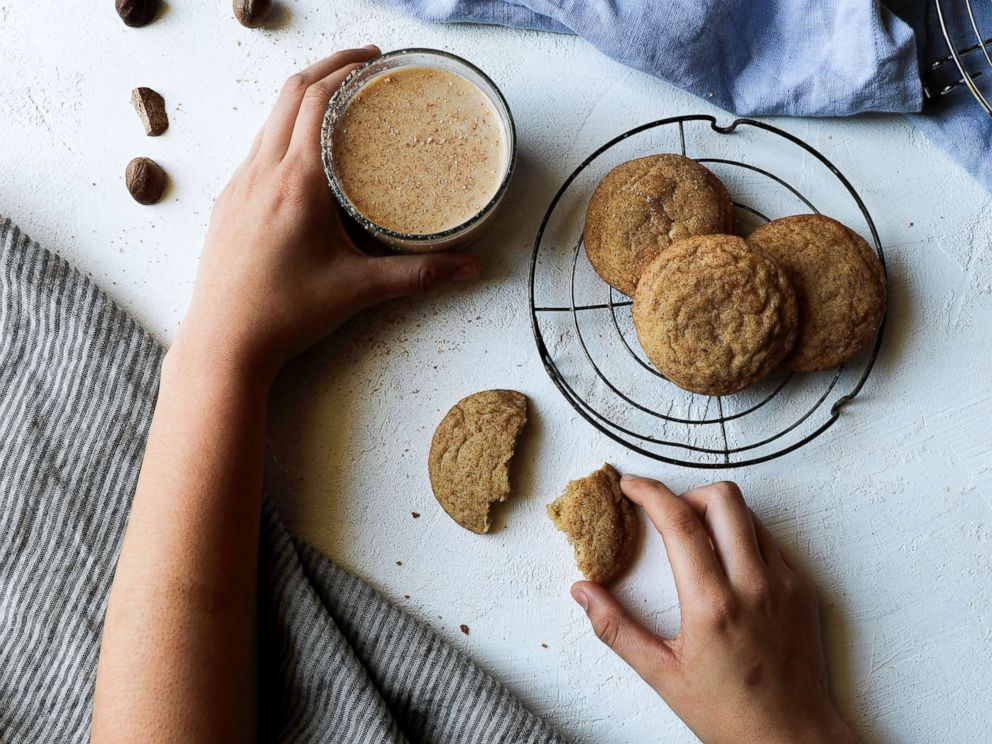 PHOTO: Rebecca Firths eggnog snickerdoodles
