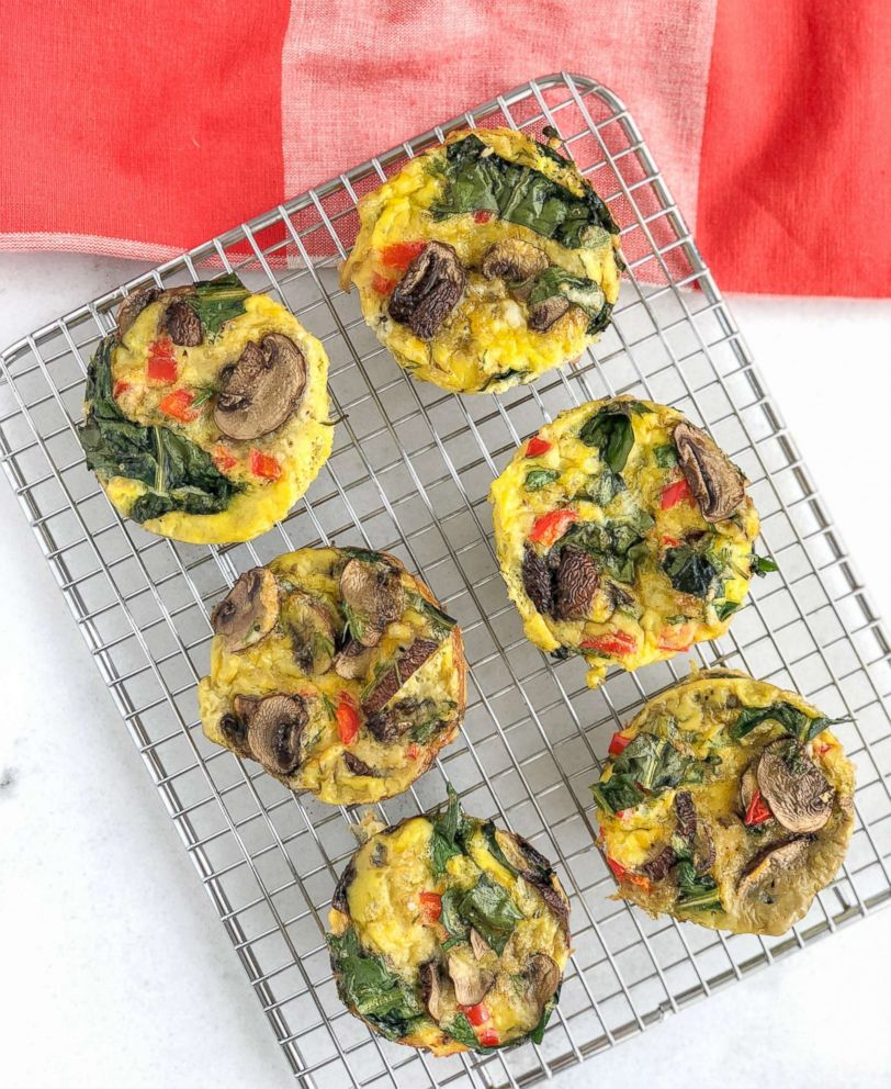 PHOTO: Dandelion egg muffins by Anna Brown of Nutritionally Squeezed are pictured.