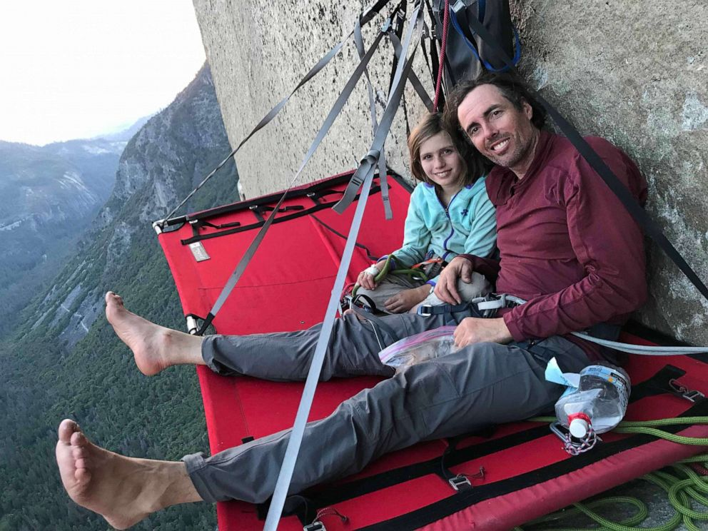 PHOTO: In this undated photo, Selah Schneiter, 10, is shown with her father, Mike Schneiter, during their successful climb of The Nose at El Capitan in Yosemite National Park.