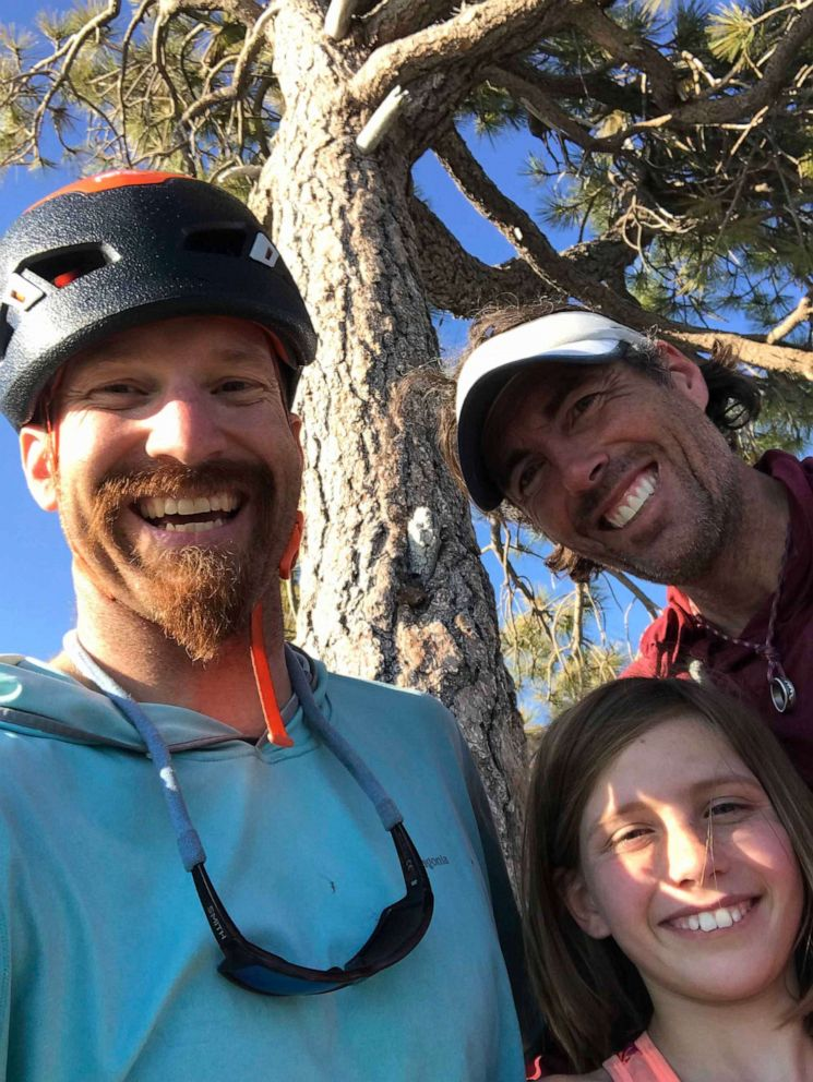 PHOTO: Selah Schneiter, 10, successfully climbed The Nose of El Capitan at Yosemite National Park with her dad Mike Schneiter and family friend Mark Regier.