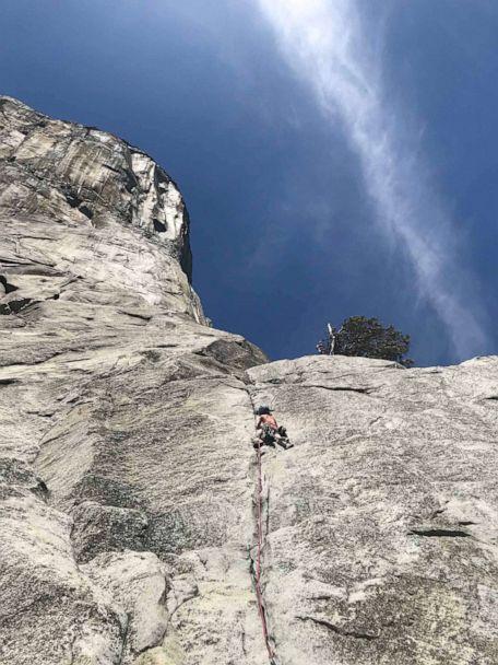 10-year-old Selah Schneiter climbs Yosemite's El Capitan