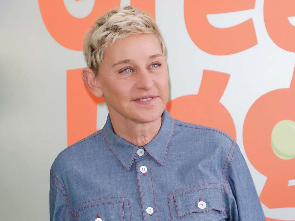 PHOTO: Ellen DeGeneres attends the premiere of Netflixs Green Eggs And Ham at Hollywood American Legion on Nov. 03, 2019, in Los Angeles.