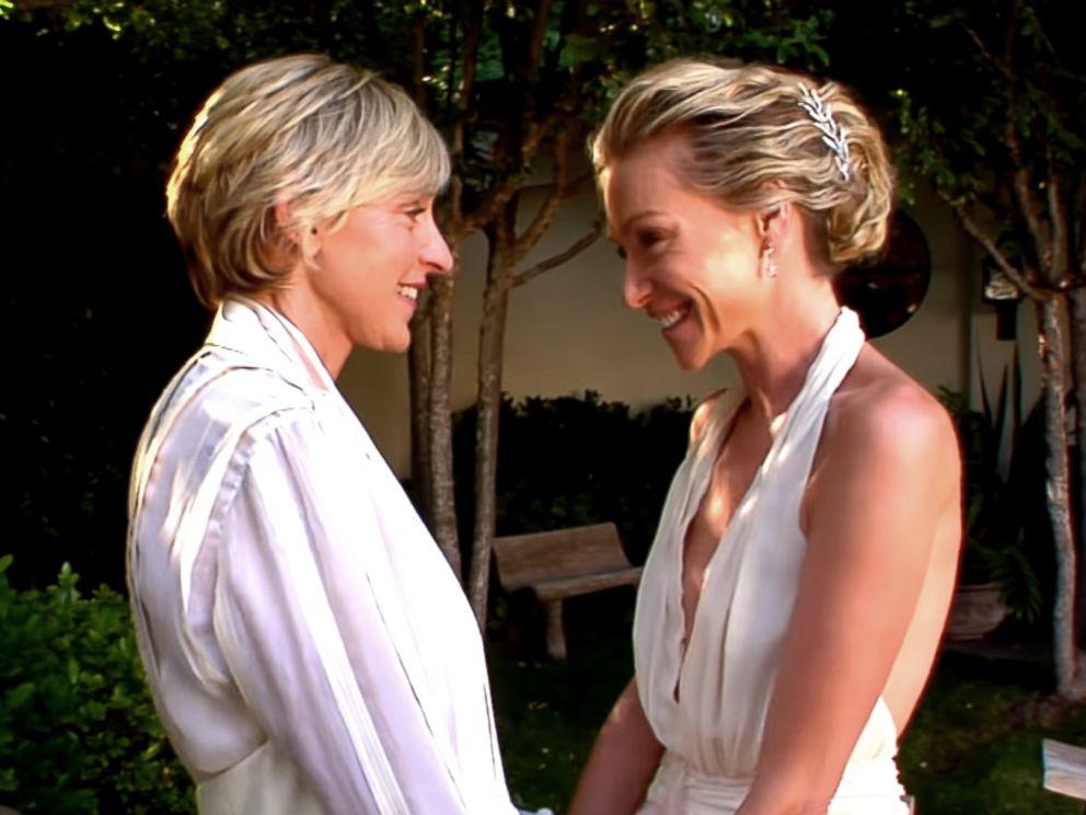 Ellen DeGeneres And Wife Portia De Rossi Celebrate 10th