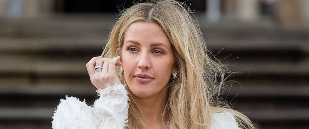 PHOTO: Ellie Goulding arrives at an event on April 04, 2019 in London.