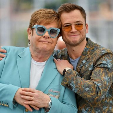 Elton John Reveals Emotional Message Behind Rocketman Film If You Re In A Bad Way And You Re Unhappy Ask Someone For Help Gma