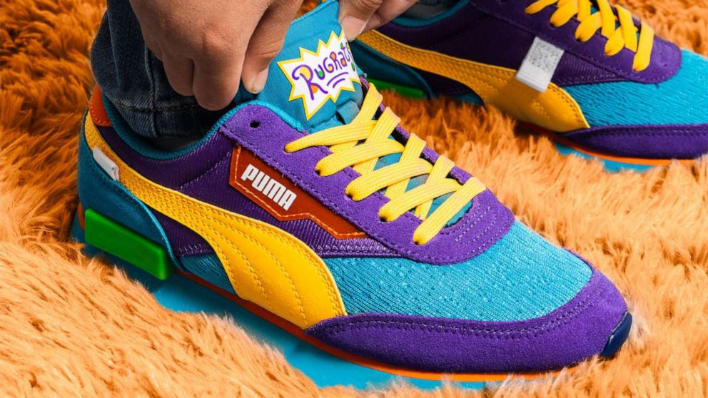 """PHOTO: PUMA and Nickelodeon team up to celebrate """"Rugrats"""" 30th anniversary with new collection."""