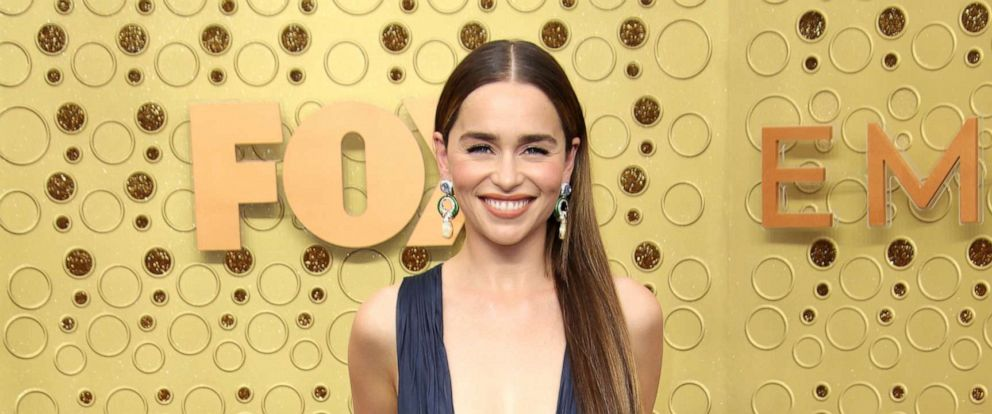 PHOTO: Emilia Clarke is seen at the 71st Annual Primetime Emmy Awards at the Microsoft Theatre in Los Angeles.