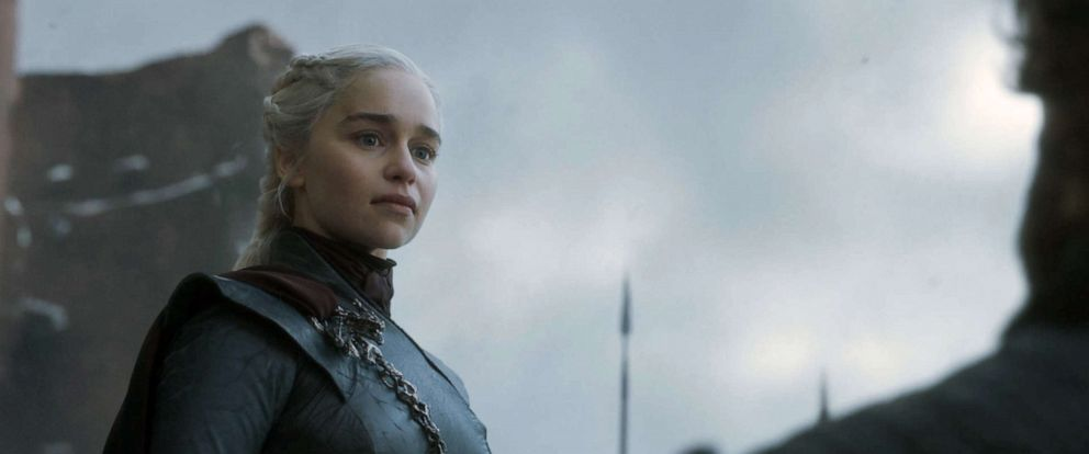 "PHOTO: Emilia Clarke in the ""Game of Thrones."""