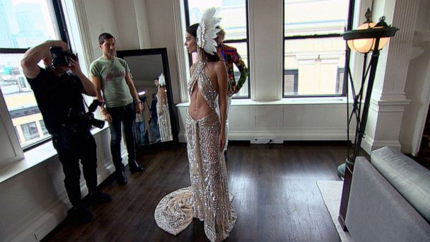 Emily Ratajkowski channels her icon Cher with a sparkling sheer gown