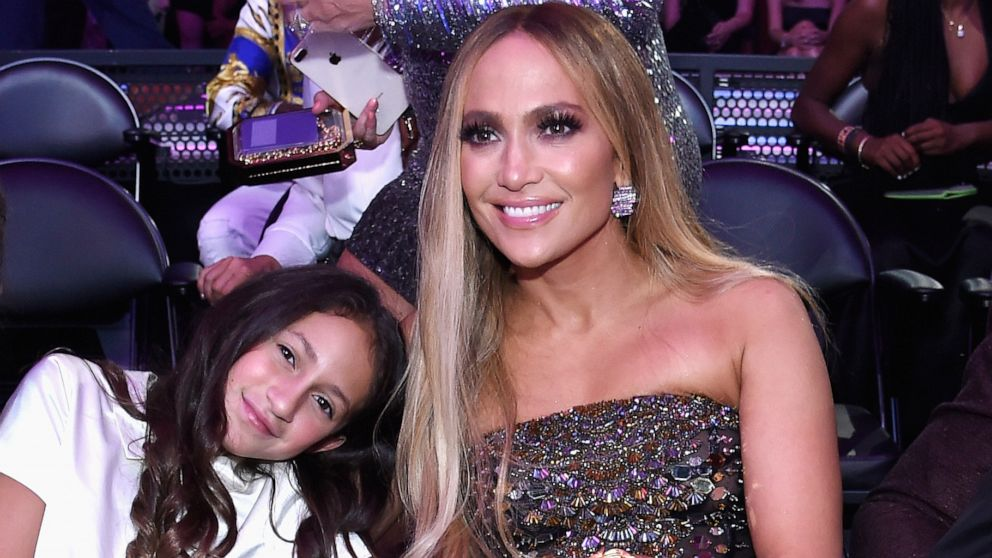 J.Lo's 11-year-old daughter joins her on stage for duet during 'It's My Party' world tour performance