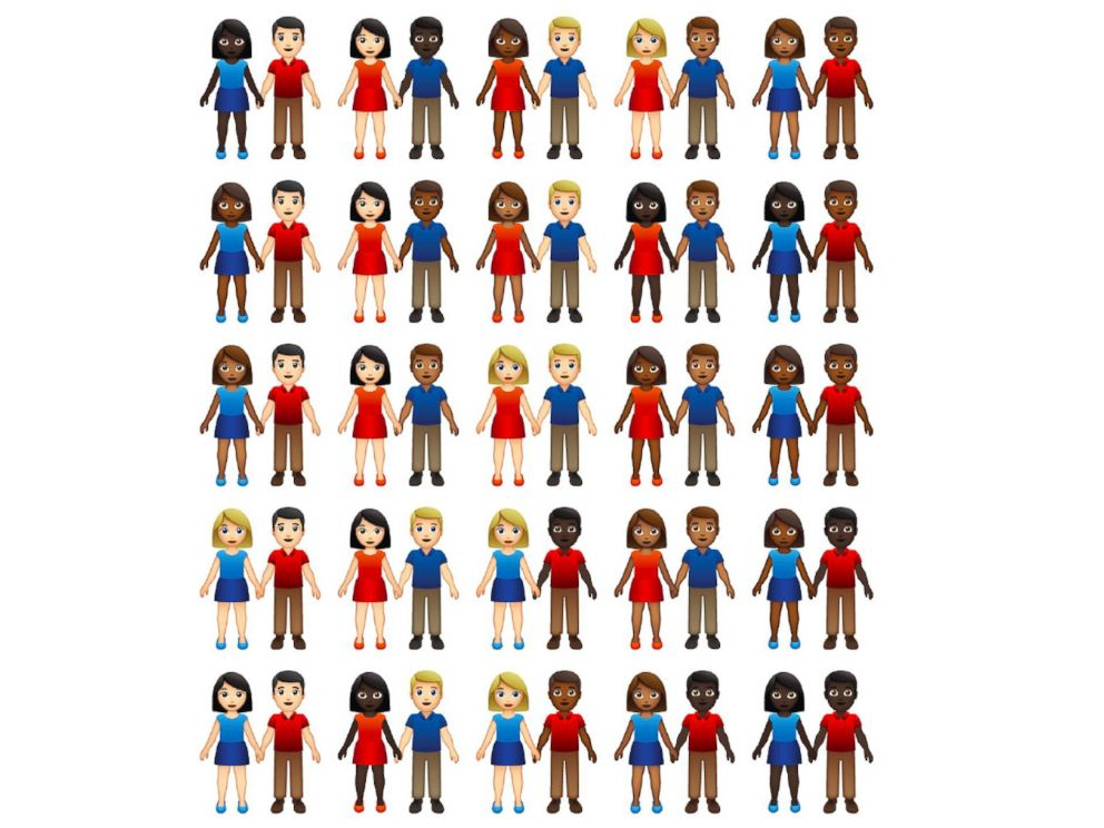 PHOTO: Unicode Consortium revealed the contenders for Emoji 12.0 on October 23. Multi-person emoji now have skin-tone variants.
